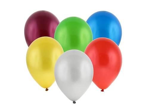 Balonky jednobarevné mix 13 kusů