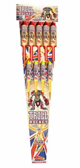 Rakety Troll 9 ks